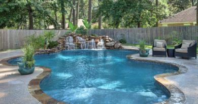 ландшафтный дизайн для бассейнов