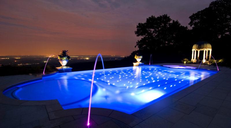 освещение для вашего бассейна