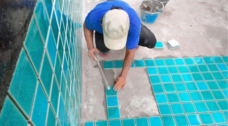 Строительство бассейна: отделочные работы